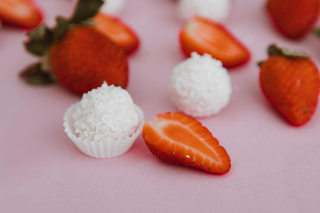 jordbær dessert